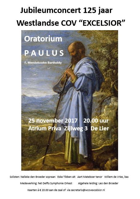 Affiche Concert Paulus